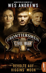 "Cover ""Frontiersmen - Civil War 1"""