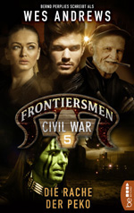 "Cover ""Frontiersmen - Civil War 5"""